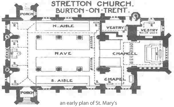 An old plan of St Marys