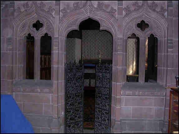 The side chapel